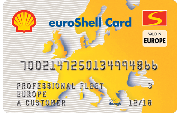 International Shell fuel card Fuelogic
